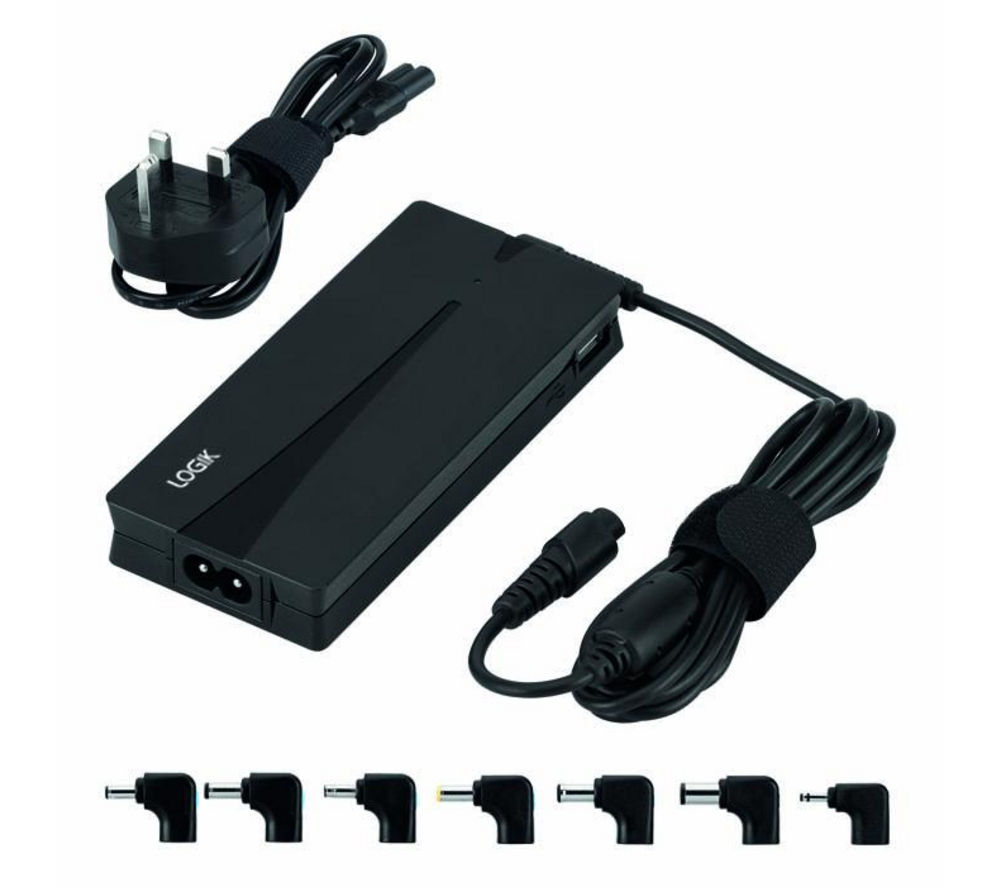 LOGIK LPAULT13 Universal Ultrabook Power Adaptor