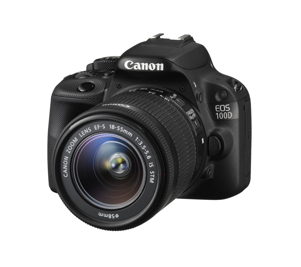 CANON EOS 100D DSLR Camera with 18-55 mm f/3.5-5.6 IS STM Zoom Lens