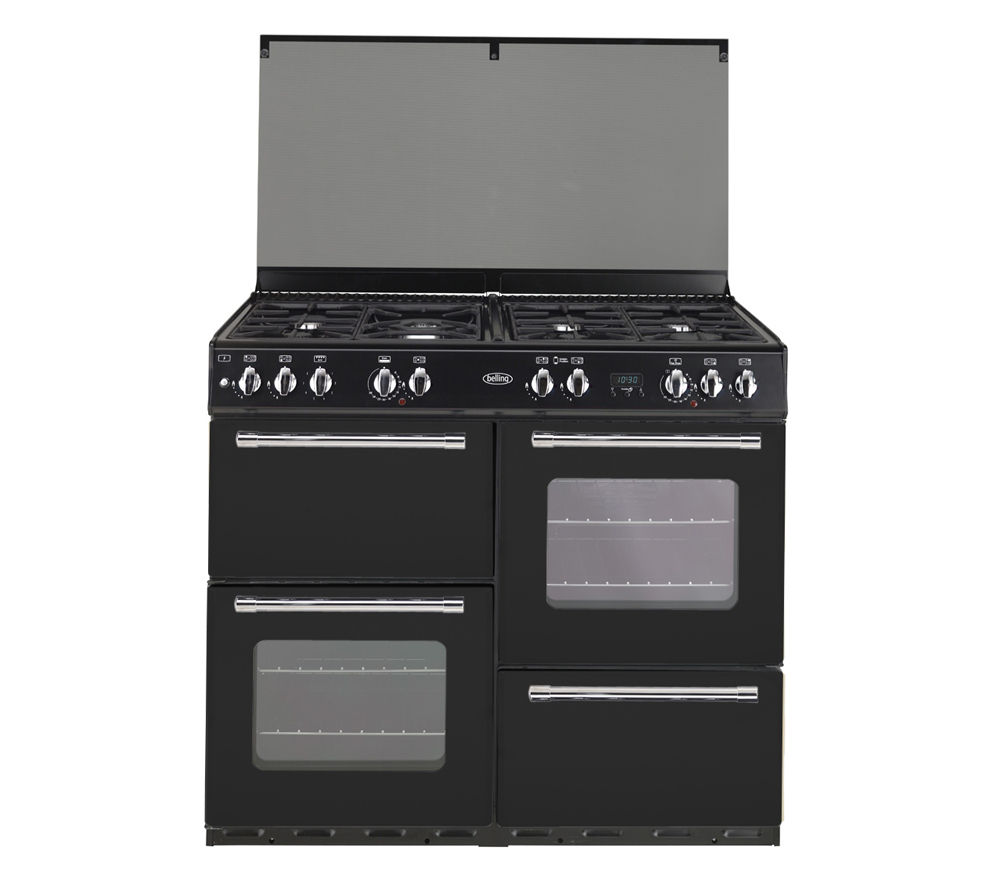 BELLING Country Range 100GT Gas Range Cooker - Black