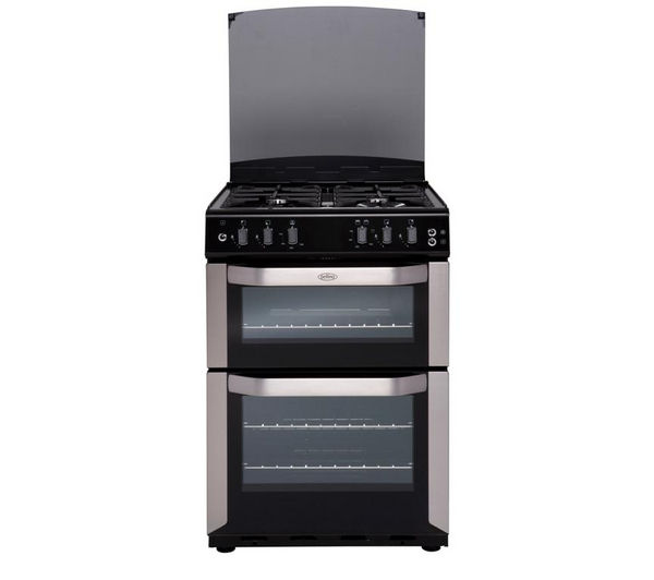 BELLING FSDF60DOW Dual Fuel Cooker - Stainless Steel