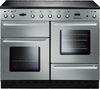 RANGEMASTER Toledo 110 Electric Ceramic Range Cooker - Stainless Steel & Chrome