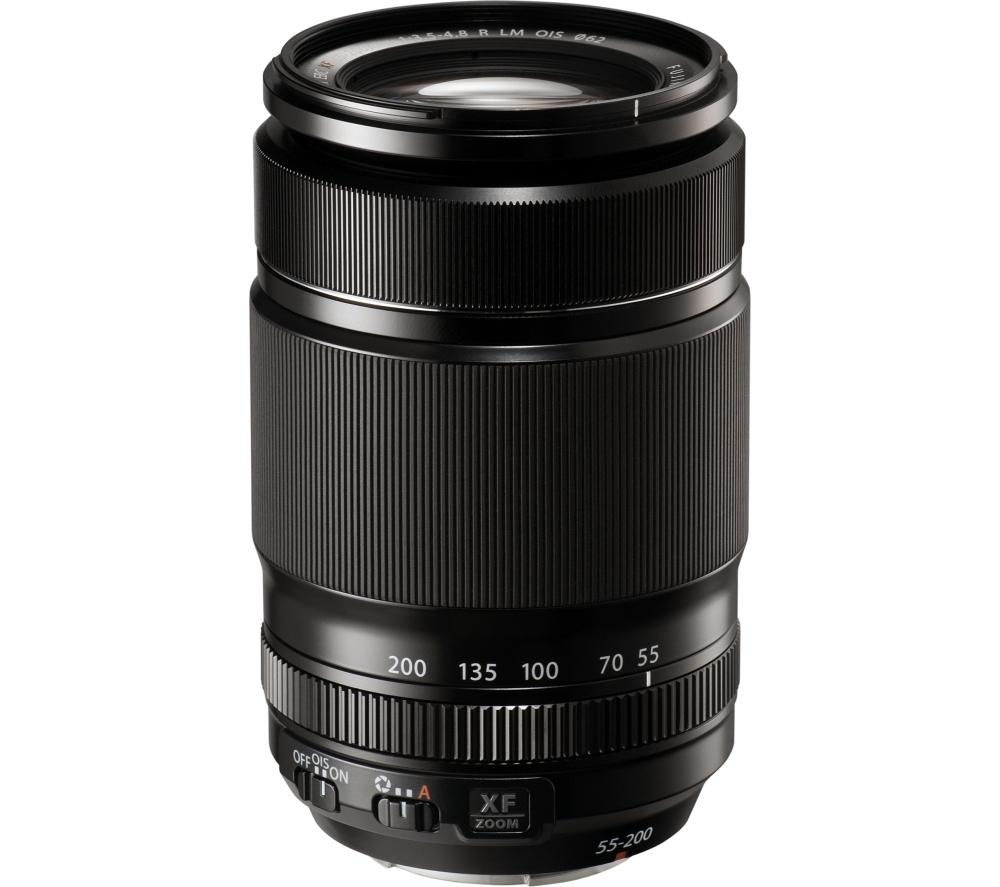 FUJIFILM  XF 55-200 mm f/3.5-4.8 Telephoto Zoom Lens