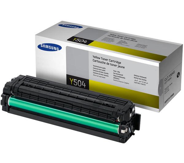 Samsung Y504S Yellow Toner Cartridge, Yellow