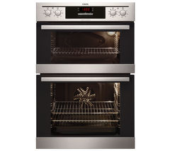 AEG DC4013021M Electric Double Oven - Stainless Steel