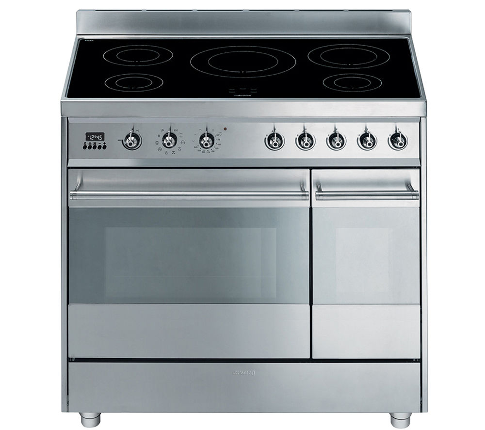 Buy SMEG Symphony 90 Electric Induction Range Cooker
