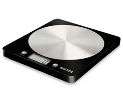 SALTER 1036 BKSSDR Disc Digital Kitchen Scales - Black
