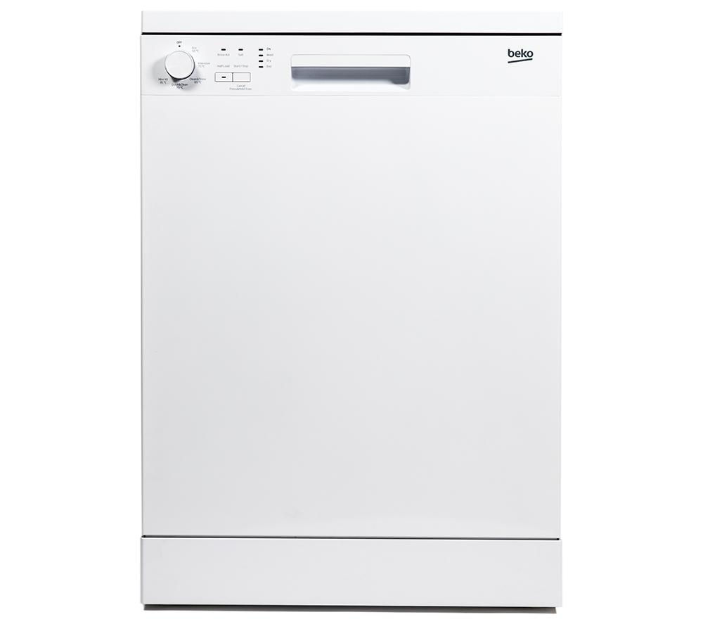 BEKO  DFN05X10W Full-size Dishwasher - White +  WM62125W Washing Machine - White