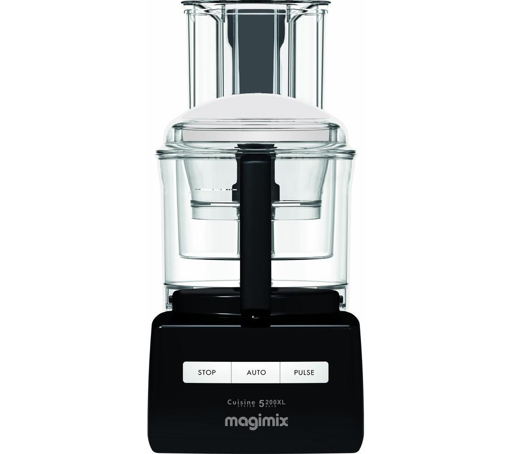 MAGIMIX Premium 5200XL Food Processor - Black