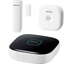 PANASONIC Smart Home Safety Starter Kit - KX-HN6010EW