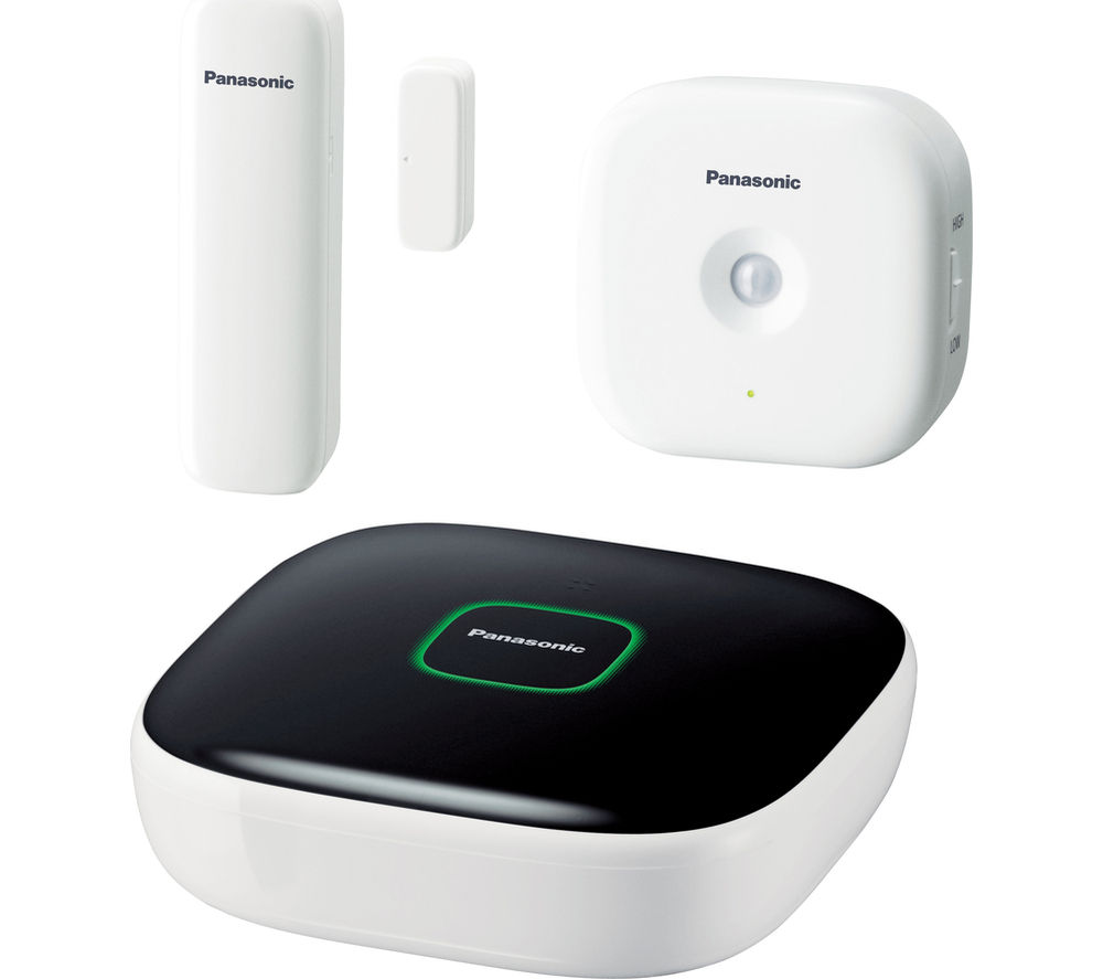 PANASONIC Smart Home Safety Starter Kit - KX-HN6010EW