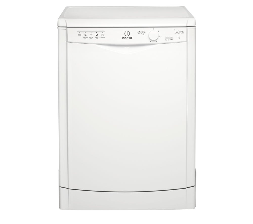 INDESIT  DFG15B1 Fullsize Dishwasher  White White