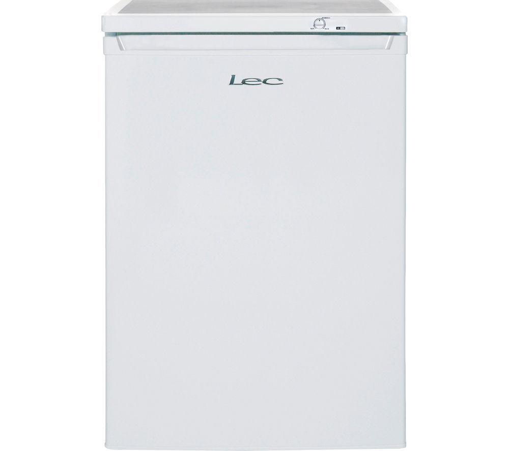 LEC  U6014 Freezer  White White
