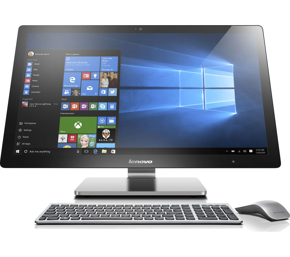 buy lenovo a740 27 touchscreen all in one pc free. Black Bedroom Furniture Sets. Home Design Ideas