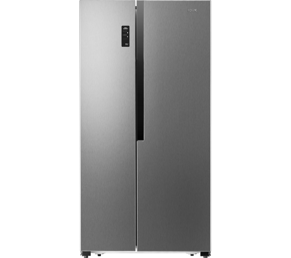 What Is An American Fridge Freezer Part - 16: LOGIK LSBSX16 American-Style Fridge Freezer - Silver