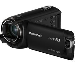 PANASONIC HC-W580EB-K Traditional Camcorder - Black