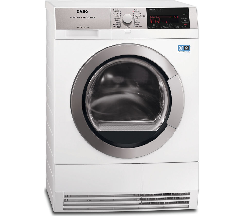AEG  T97689IH3 Condenser Tumble Dryer  White White