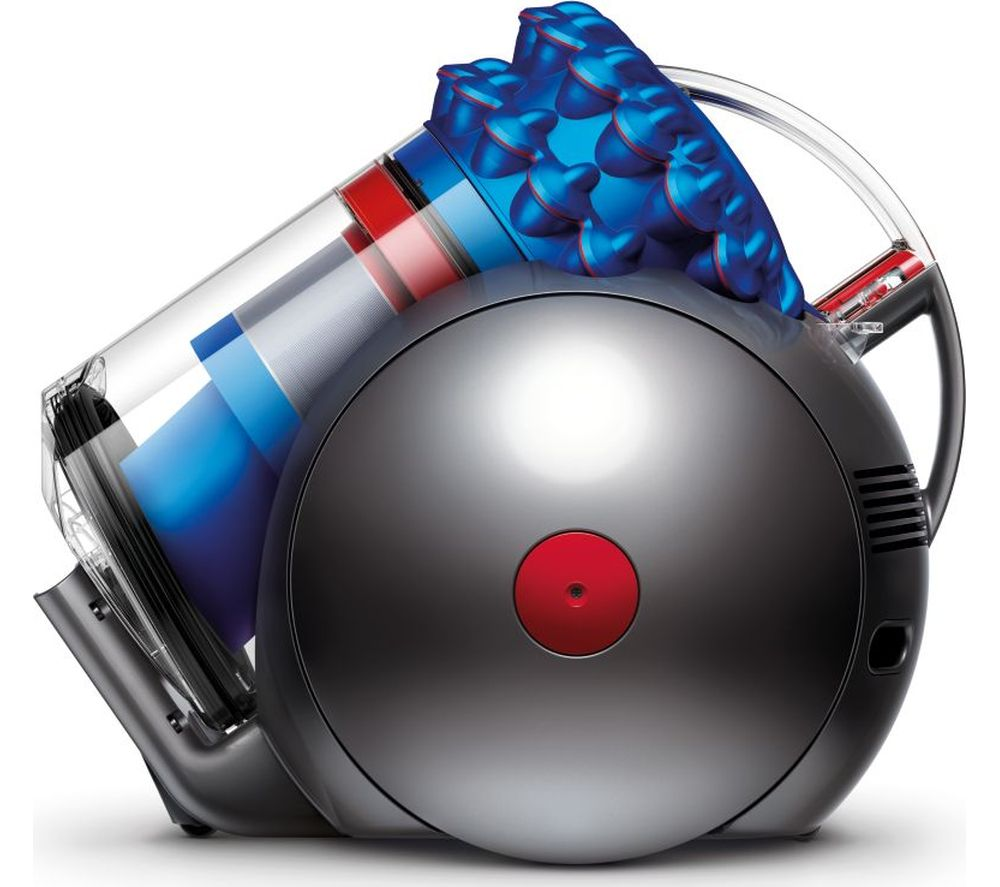 DYSON  Cinetic Big Ball Musclehead Bagless Cylinder Vacuum Cleaner  Satin Blue Blue