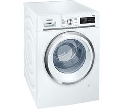 SIEMENS iQ500 WM16W590GB Washing Machine - White