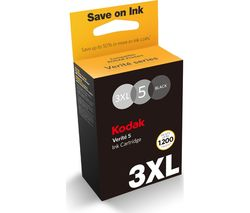 KODAK Verite #5 3XL Black Ink Cartridge