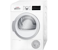 BOSCH WTG86401GB Condenser Tumble Dryer - White