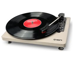 ION Compact LP USB Turntable - Cream