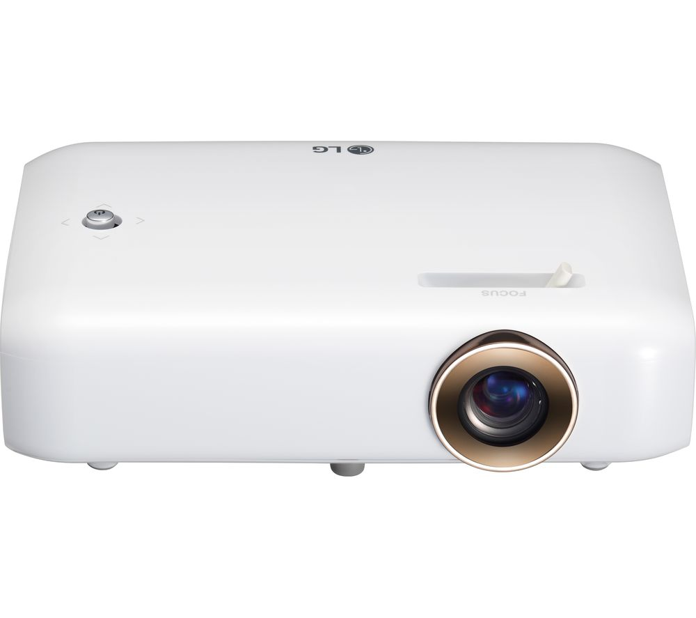 Lg ph550g short throw hd ready portable projector deals for Portable pocket projector reviews