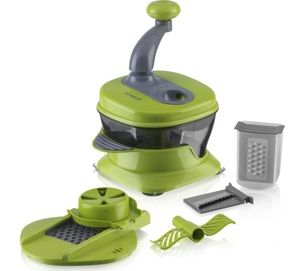 TOWER Kitchen Plus Slicer  Green Green