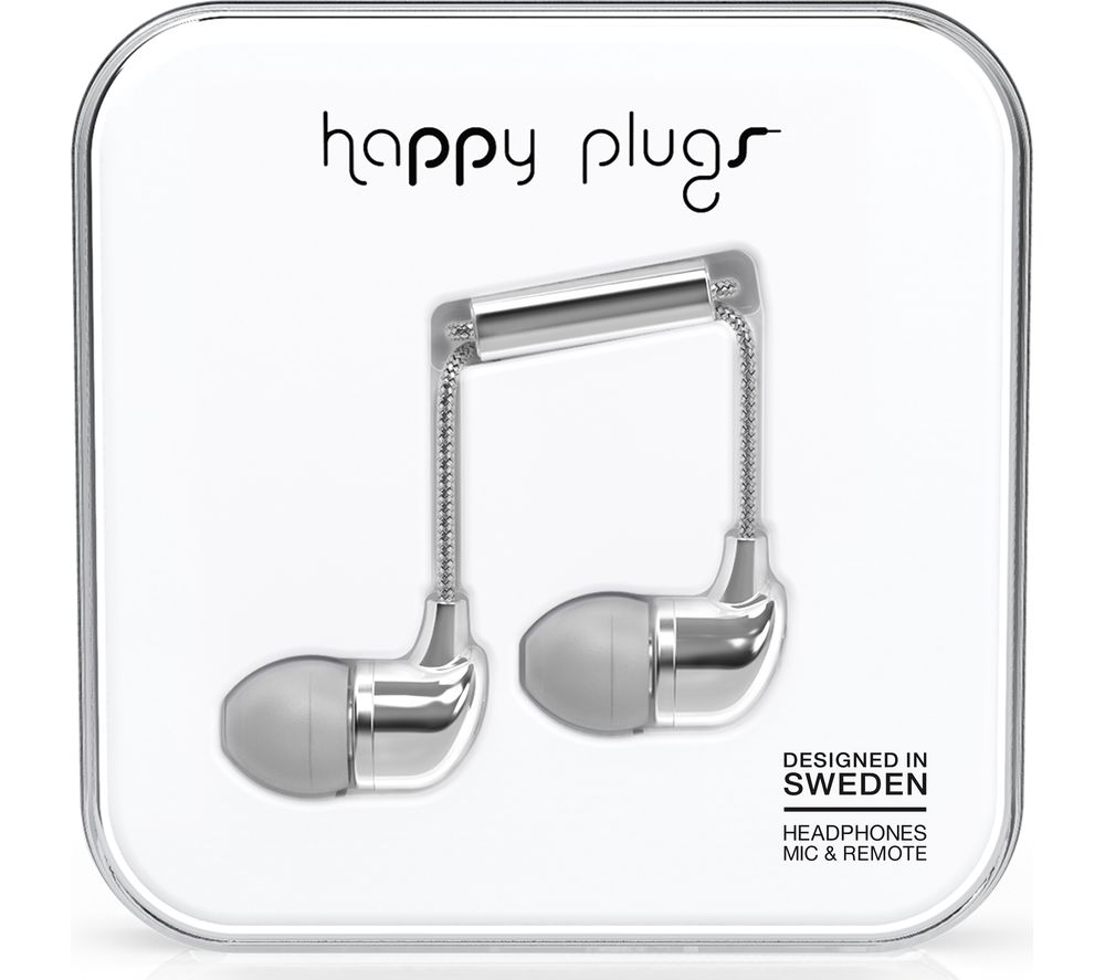 HAPPY PLUGS HP7736 Headphones - Silver