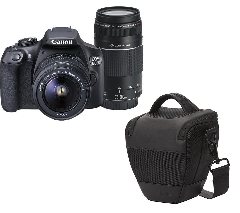 canon eos 1300d dslr camera twin lens kit hl100 dslr. Black Bedroom Furniture Sets. Home Design Ideas