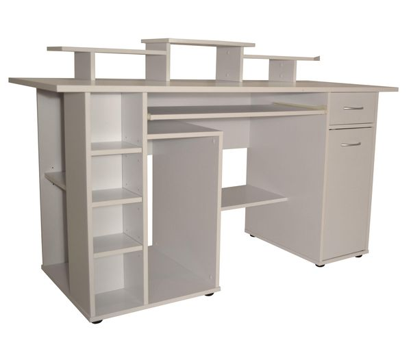buy alphason san diego desk white free delivery currys