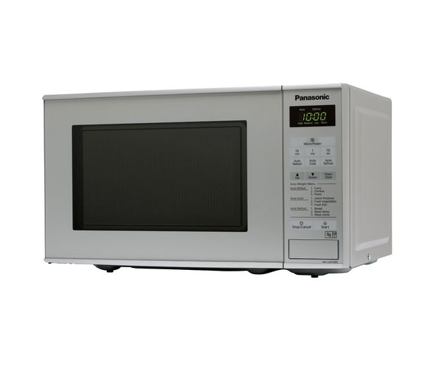 Panasonic NNE281MMBPQ Solo Microwave  Silver Silver
