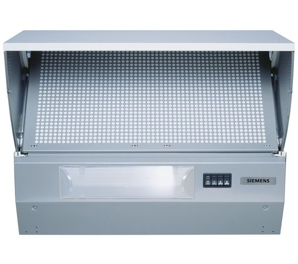 SIEMENS LE62031GB Integrated Cooker Hood - Metallic Silver