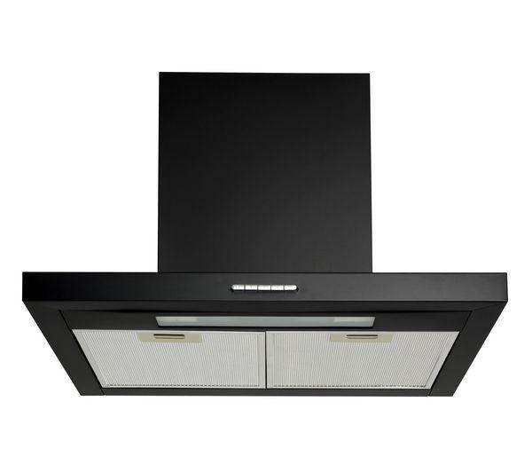 buy logik l60chdb12 chimney cooker hood black free. Black Bedroom Furniture Sets. Home Design Ideas