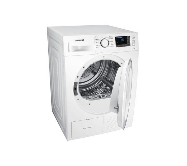 Heat Pump Dryer ~ Samsung dv f e hgw heat pump condenser tumble dryer white