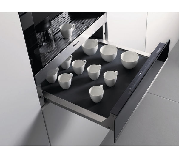buy miele esw6214 warming drawer stainless steel free delivery currys. Black Bedroom Furniture Sets. Home Design Ideas