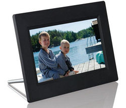 "LOGIK L07DPF13 7"" Digital Photo Frame - Black"