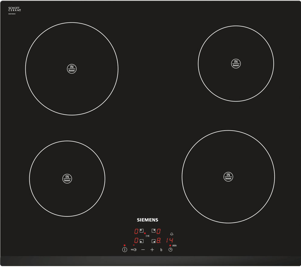SIEMENS EH631BA68B Induction Hob - Black