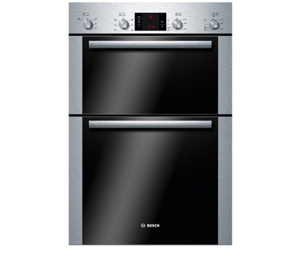 BOSCH Avantixx HBM43B250B Electric Double Oven - Brushed Steel