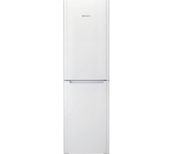 Hotpoint FSFL58W Fridge Freezer - White, White