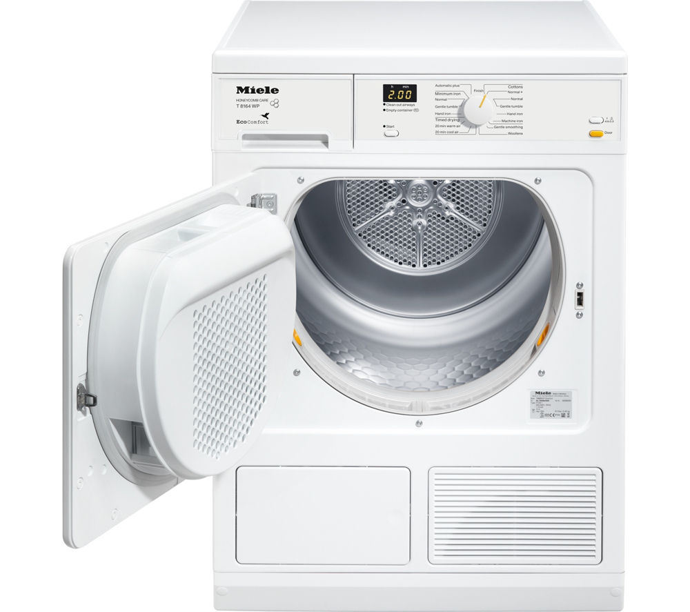 Heat Pump Dryer ~ Buy miele t wp heat pump condenser tumble dryer white