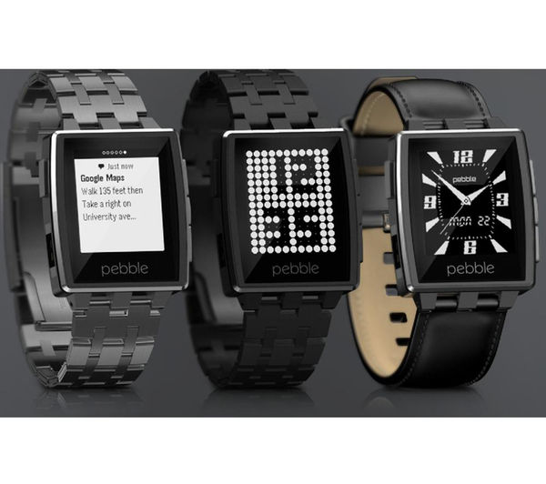 Buy PEBBLE Steel Smart Watch