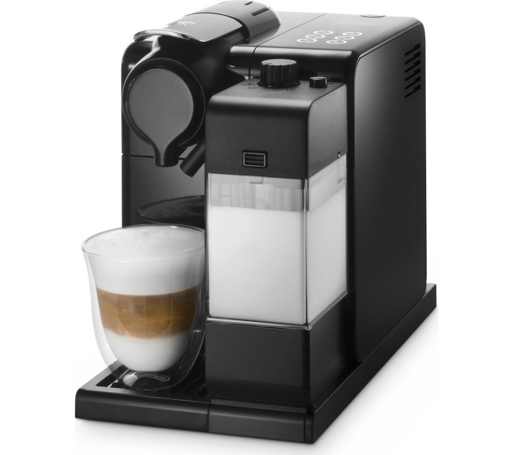 buy nespresso by de 39 longhi lattissima touch en550 b coffee machine black free delivery currys. Black Bedroom Furniture Sets. Home Design Ideas