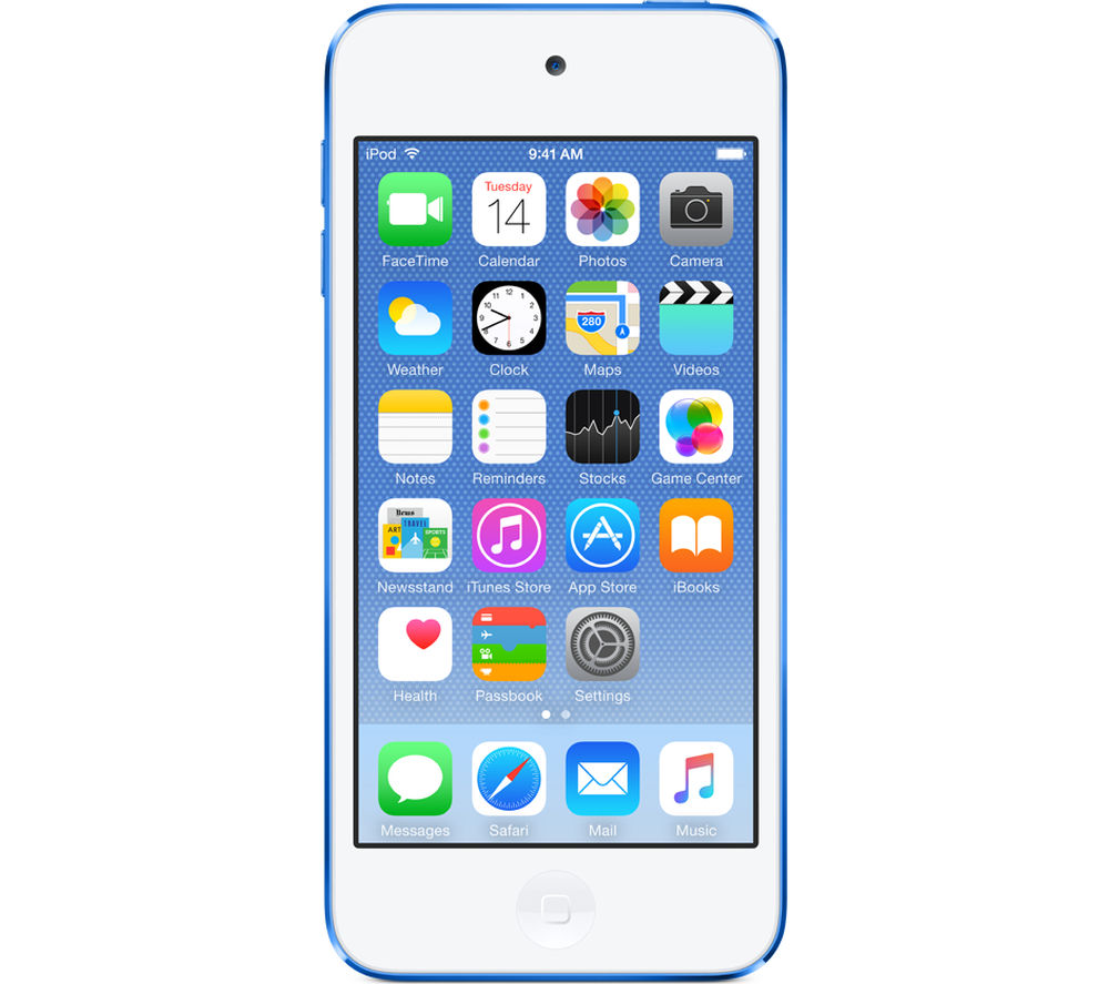 buy apple ipod touch 64 gb 6th generation blue free. Black Bedroom Furniture Sets. Home Design Ideas