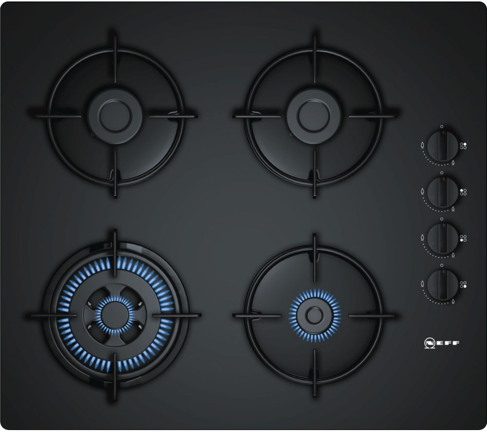 NEFF  T26CR51S0 Gas Hob ? Black Black