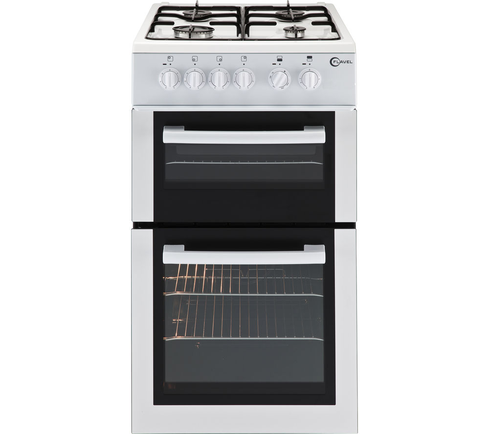 FLAVEL  FTCG50W Gas Cooker  White White