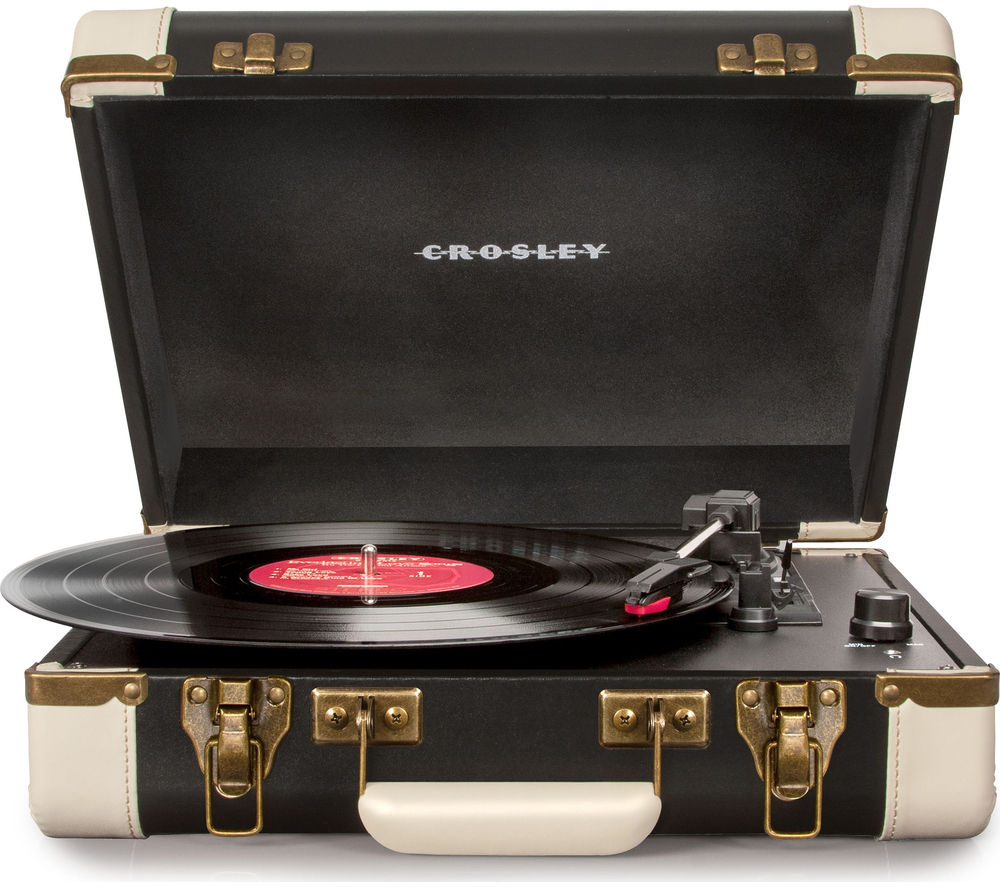 CROSLEY Executive Portable USB Turntable - Black