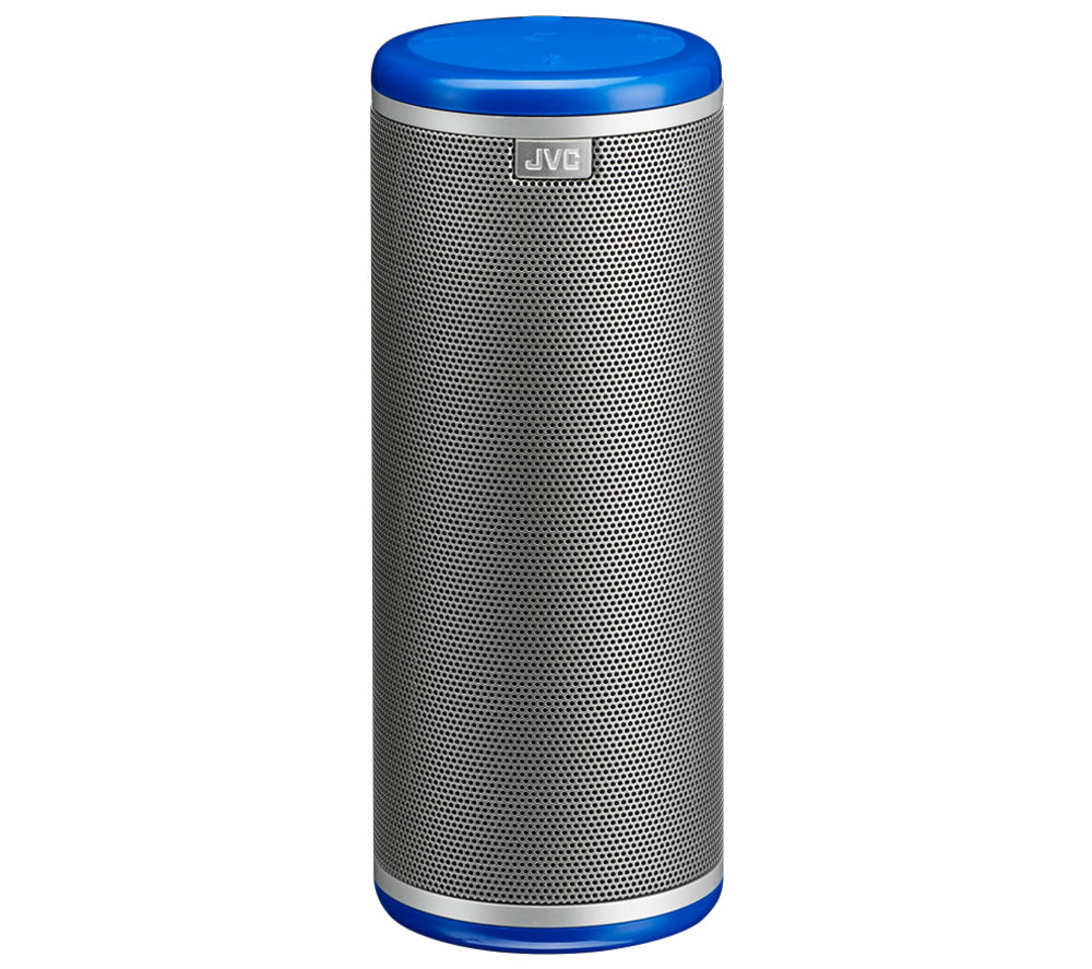Click to view more of JVC  360 Degree SP-AD95-A Portable Wireless Speaker - Blue, Blue