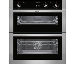 NEFF U17S32N5GB Built-under Double Oven - Stainless Steel