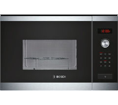 Bosch HMT84G654B Built-in Microwave with Grill - Stainless Steel