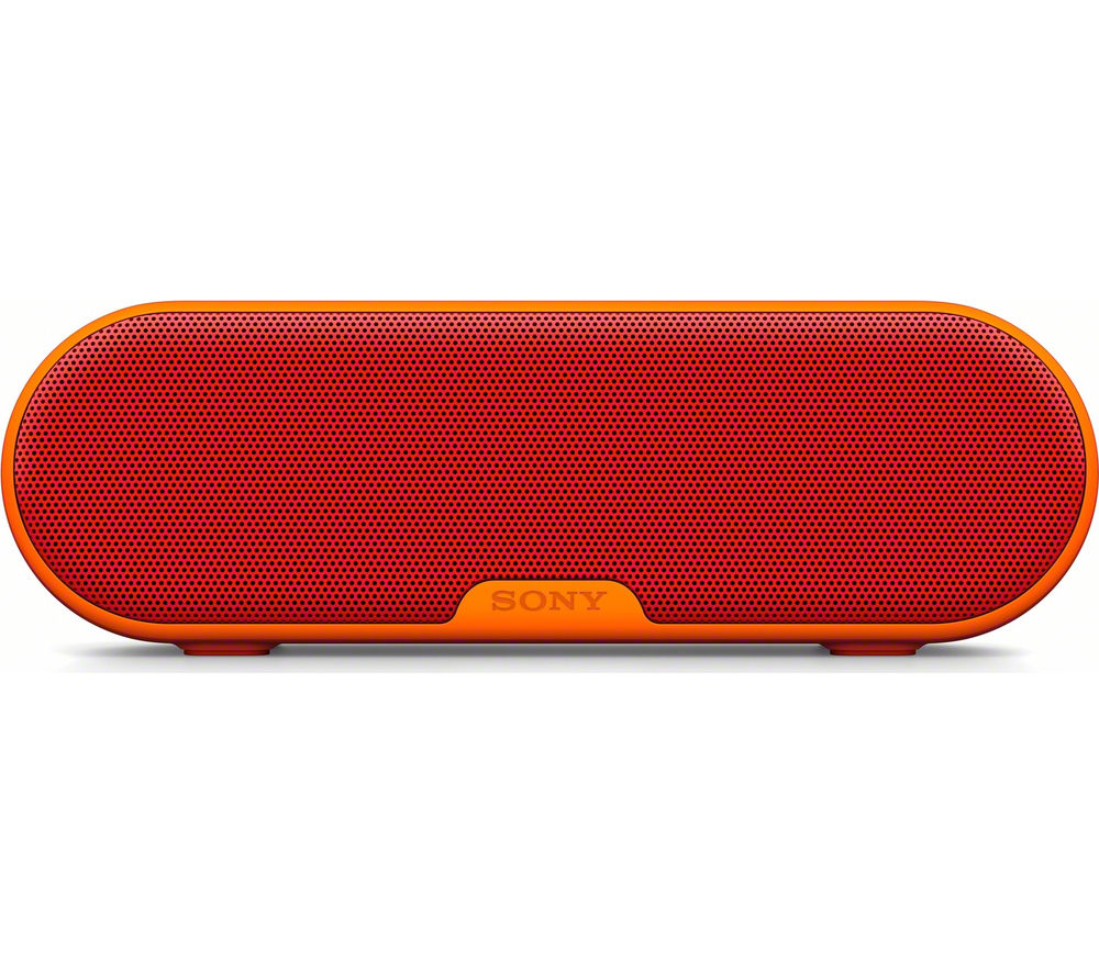 Click to view more of SONY  SRS-XB2R Portable Wireless Speaker - Red, Red